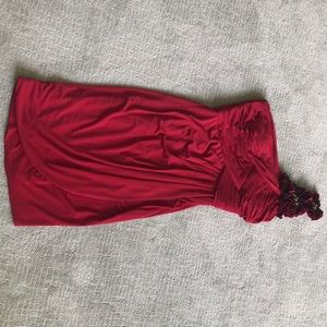 Beautiful Red Cocktail Dress